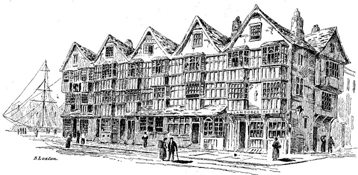An old sketch of King Street